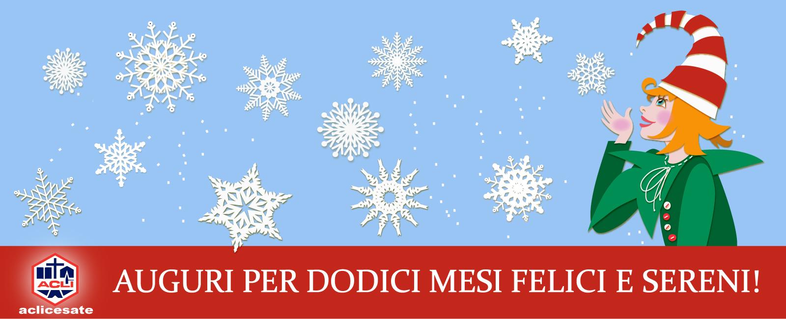Auguri di Buon Anno dal Circolo Acli di Cesate.